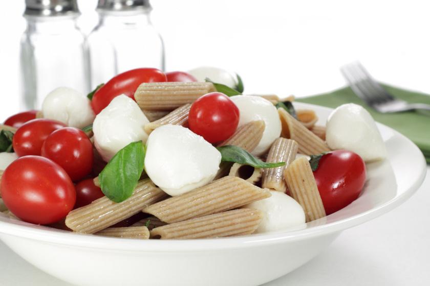 caprese tésztasaláta recept