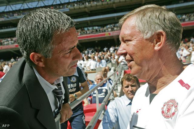 Mourinho és Ferguson