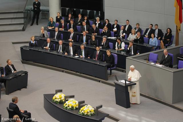 XVI. Benedek a Bundestagban