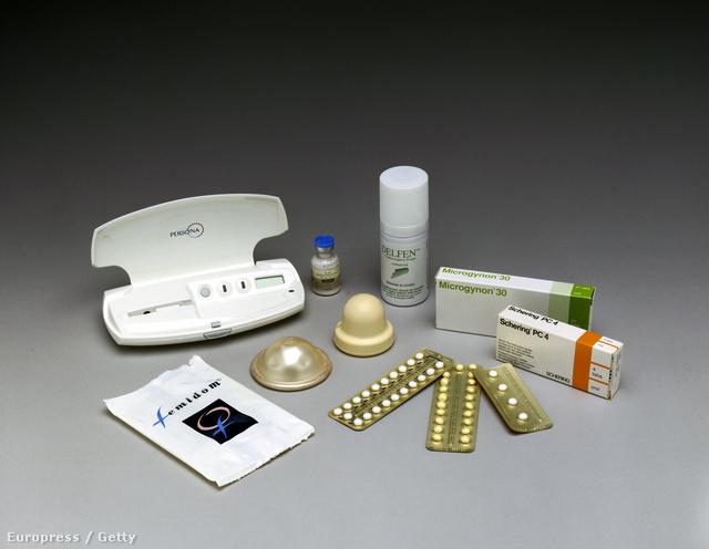Hormonszint-ellenőrző készülék és fogamzásgátló tabletták