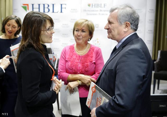 Járai Zsigmond az HBLF találkozón az IMF magyarországi képviseletének vezetőjével