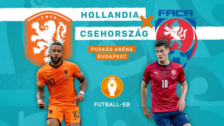 A Puskás Aréna utolsó Eb-meccse: Hollandia–Csehország