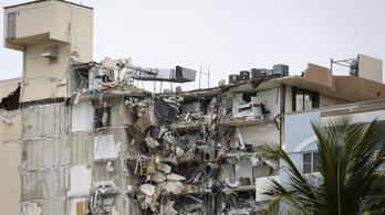 Kilenc holttestet találtak az összeomlott társasház romjai alatt