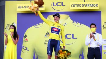 Van der Poel szakaszgyőzelmével átvette a sárga trikót