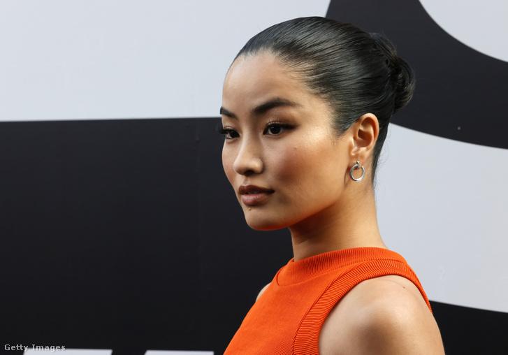 Anna Sawai a Halálos Iramban 9. premierjén Hollywoodban, 2021 június 18-án