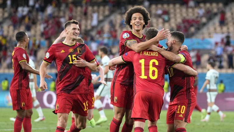 Hibátlan teljesítménnyel ejtette ki Belgium a címvédőt