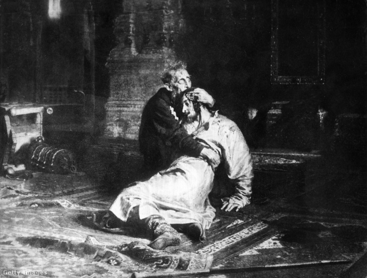 Ilja Jefimovics Repin: Rettegett Iván és fia 1581. november 16-án