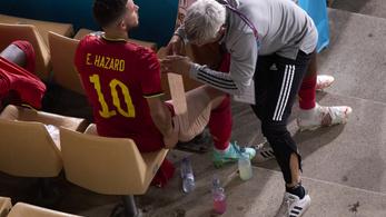 """""""Nem néz ki jól"""" – a belga sztár ismét megsérült"""