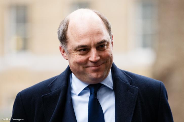Ben Wallace brit védelmi miniszter