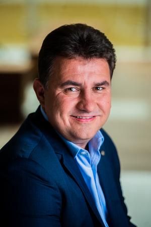 Berkes Tibor, a Mastercard üzletfejlesztési igazgatója