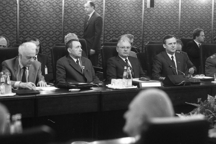 Varsói Szerződés Politikai Tanácskozó Testületének budapesti találkozója 1986. június 11-én.