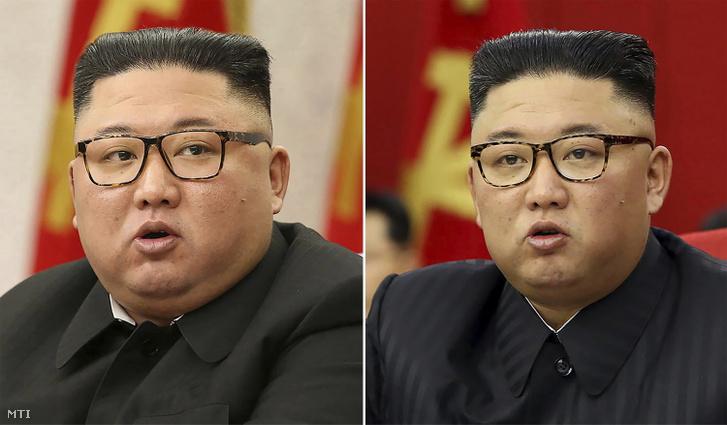 Kim Dzsongun előtte-utána