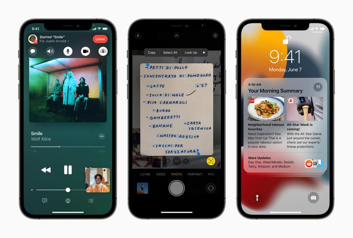 Apple iPhone12Pro-iOS15-3up 060721
