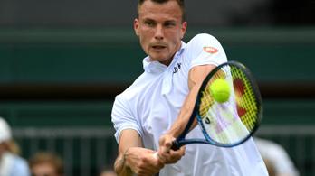 Bravúros győzelemmel kezdett Fucsovics Wimbledonban