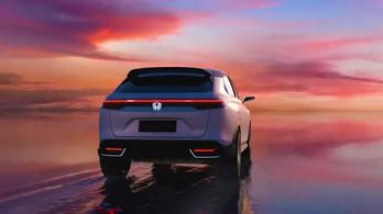 Néhány részlet az új Honda villanyautóról