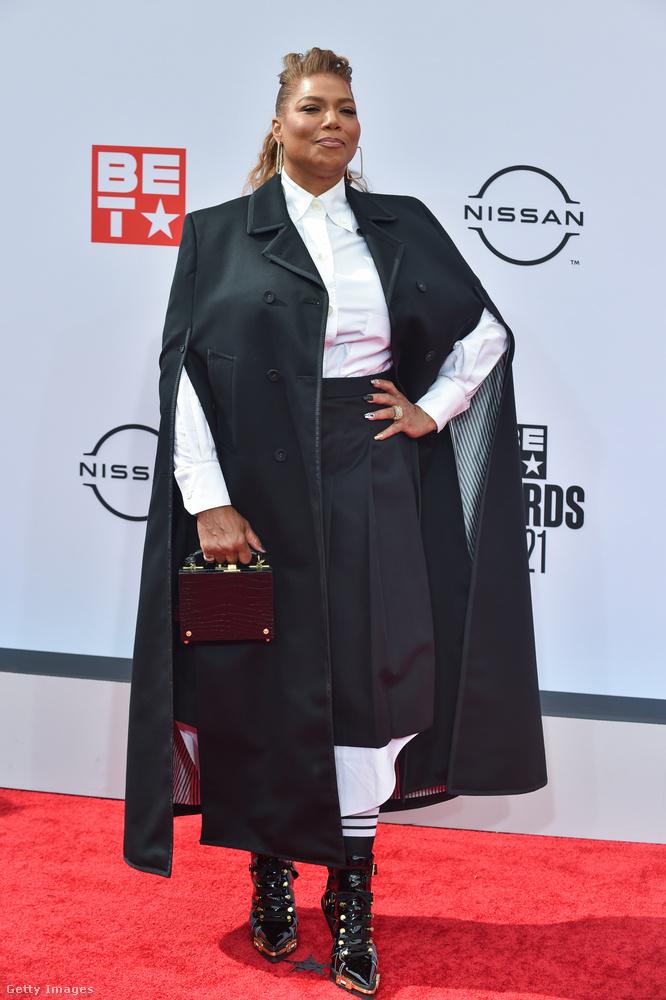 Még volt egy Oscar-jelölt színész-rapper-énekesnő az eseményen: Queen Latifah