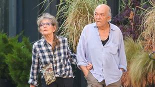 Egy szimpatikus pár: 60 éve van együtt a feleségével Mark Margolis a Totál szívásból