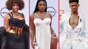 Jennifer Hudson, Megan Thee Stallion és Lil Nas X is dekoltáltban volt a BET Awardson