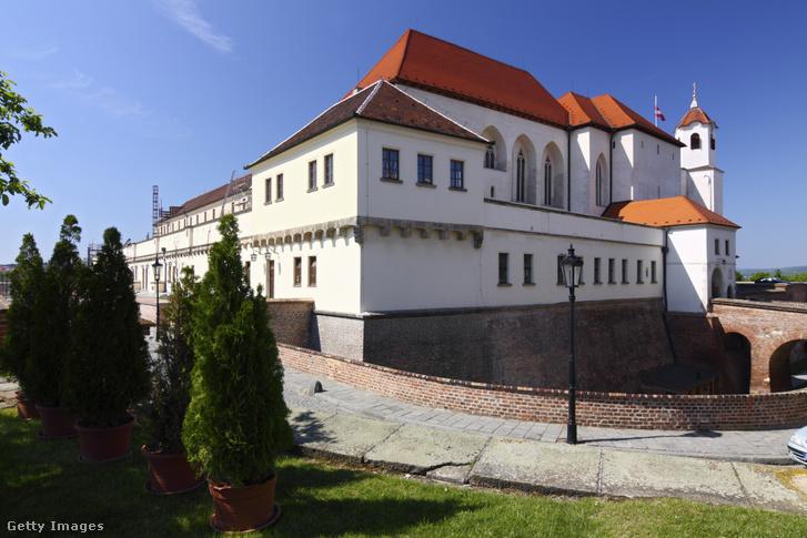 Spilberk vár Brno városában 2011. május 6-án