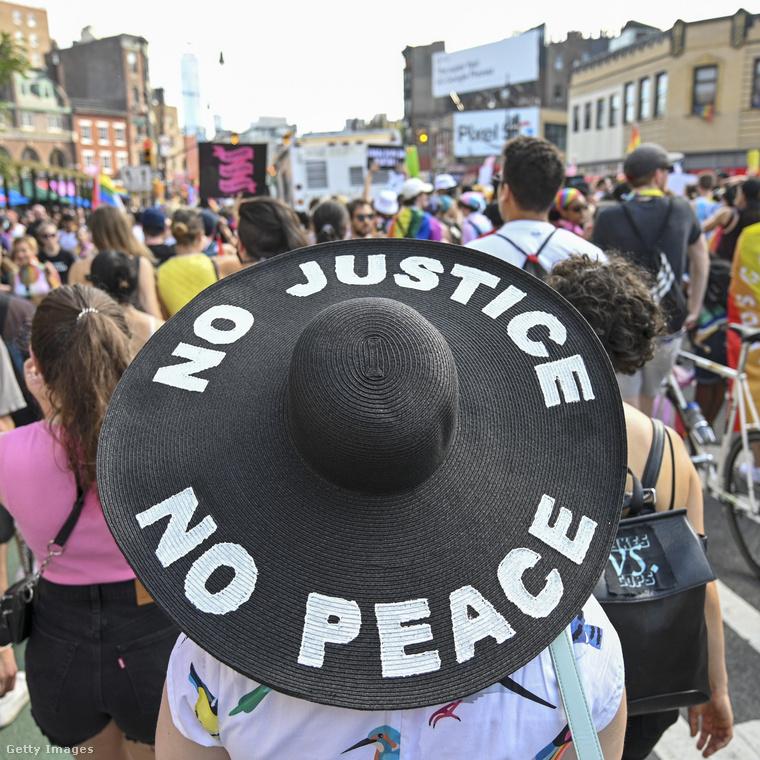 Nincs igazság, nincs béke, mondja ez a kalap