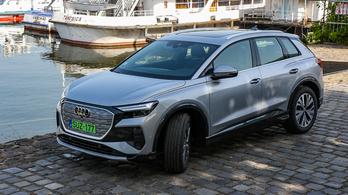 Menetpróba: Audi Q4 e-tron 40 - 2021.