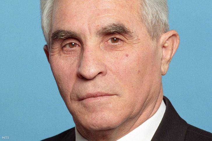 Dr. Csom Gyula a műszaki tudomány doktora, a Budapesti Műszaki Egyetem Nukleáris Technikai Intézet Széchenyi-díjas egyetemi tanára 1998. március 15-én