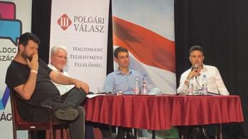 Puzsér Róbert vezényletével vitáztak a konzervatív ellenzékiek