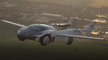 Repülő autót teszteltek Pozsonyban, videó is készült róla