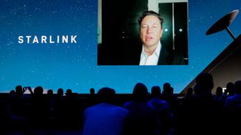 Egy éven belül félmillió Starlink felhasználóra számít Elon Musk