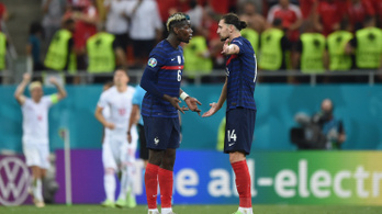 Majdnem összeverekedtek a francia válogatott játékosok családtagjai a lelátón