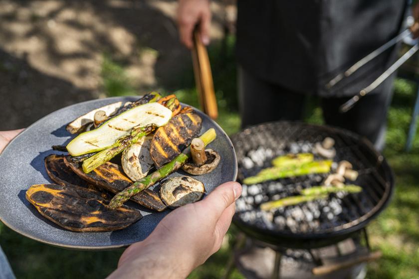 grillezett zöldségek belső ok