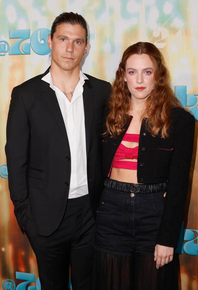 Riley és férje, Ben Smith-Petersen.
