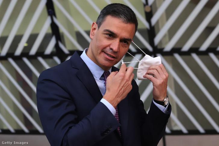 Pedro Sánchez spanyol miniszterlnök
