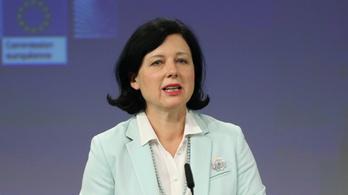 Vera Jourová: A pedofiltörvény ellen nem lehet fellépni jogállamisági eljárással