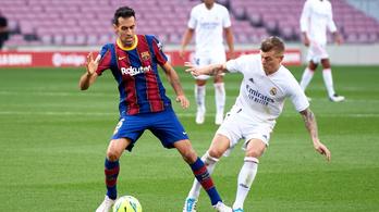 Októberben Barcelonában lesz az első el Clásico