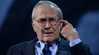 Meghalt Donald Rumsfeld
