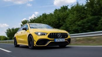 Teszt: Mercedes-AMG CLA 45 S 4Matic+ Shooting Brake