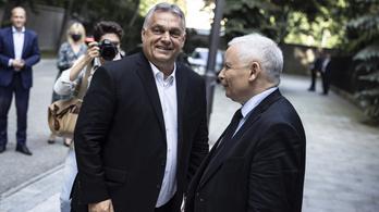 Varsóban tárgyalt Orbán Viktor és Jaroslaw Kaczynski