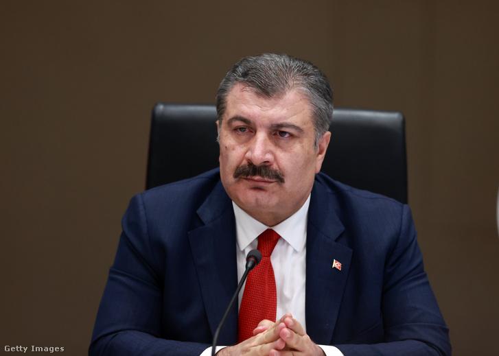 Fahrettin Koca török egészségügyi miniszter