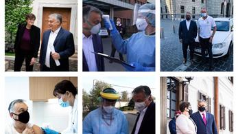 Orbán Viktor köszöntötte az egészségügyben dolgozókat
