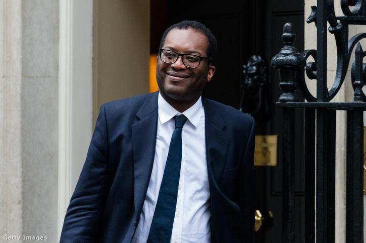 Kwasi Kwarteng brit gazdasági miniszter