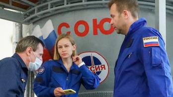 Az oroszok forgatják az első filmet az űrben