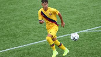 Elherdálja a Barca a jövő Messijét