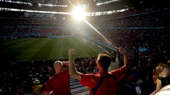 Cseh szurkolók nélkül rendezhetik meg a dánok elleni negyeddöntőt