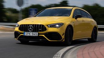 Videó: Mercedes-AMG CLA 45 S 4Matic+ Shooting Brake (2021)