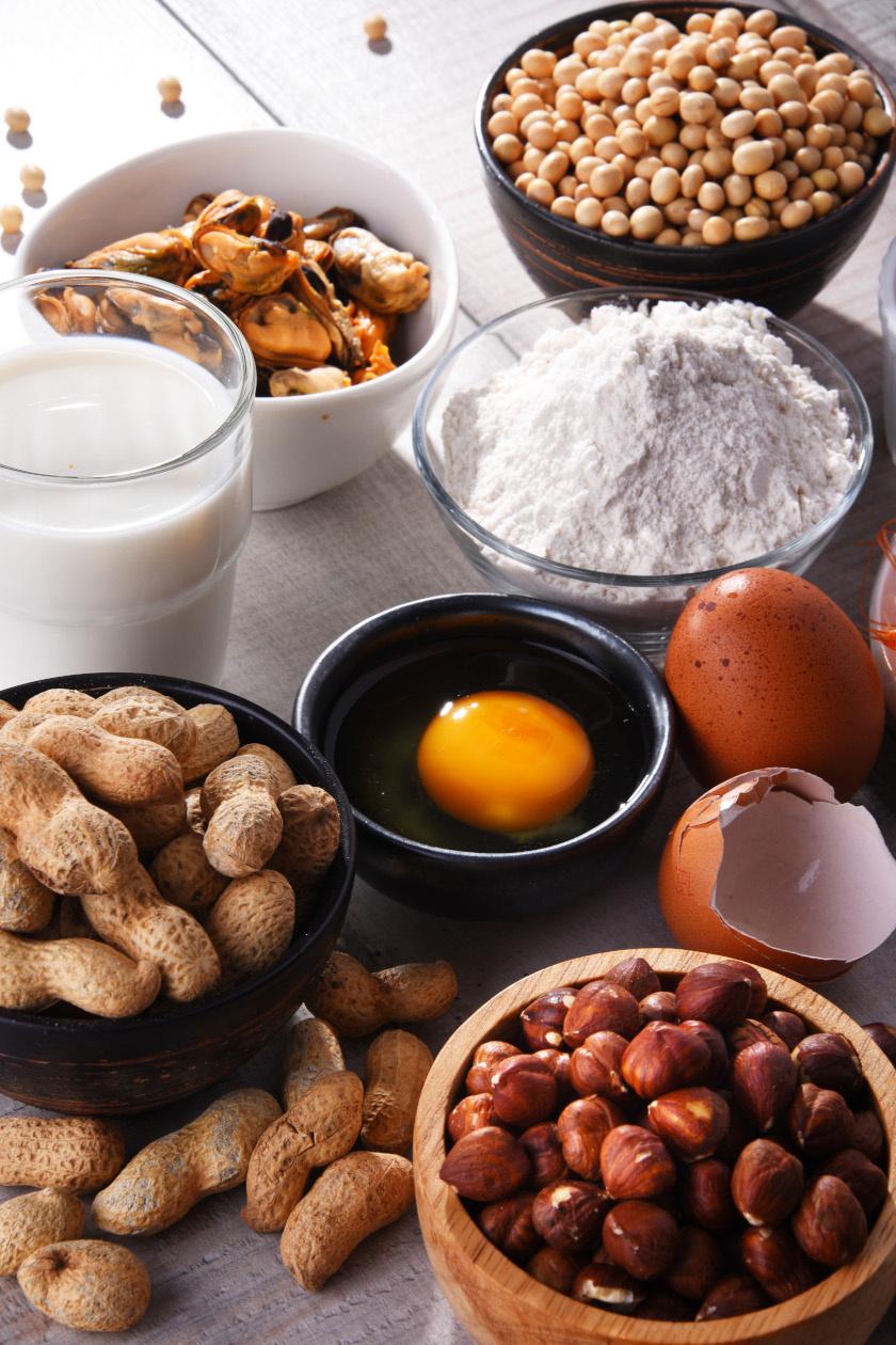 kalciumos ételek álló