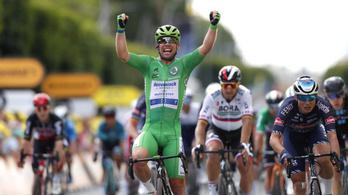 Cavendish pályafutása 32. szakaszsikerét aratta a Touron