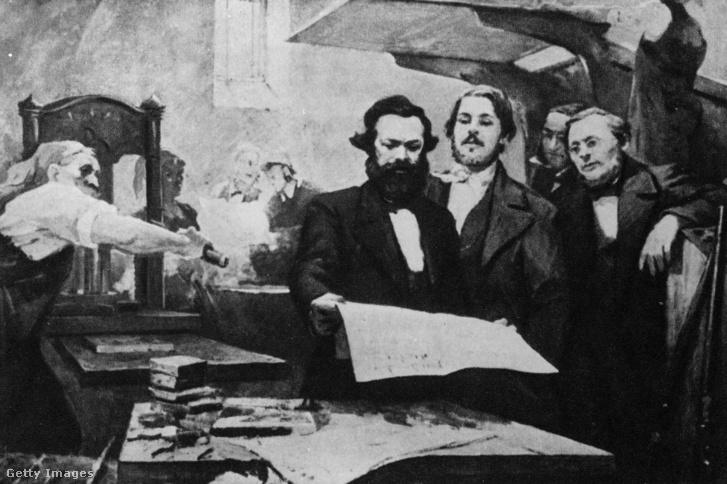 Karl Marx és Engels