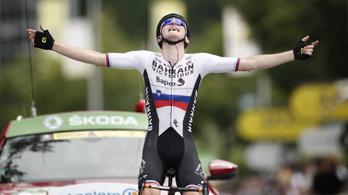 Szlovén siker az utóbbi 20 év leghosszabb Tour-szakaszán