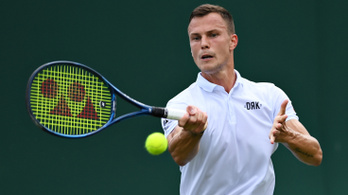 Újabb Fucsovics-bravúr Wimbledonban